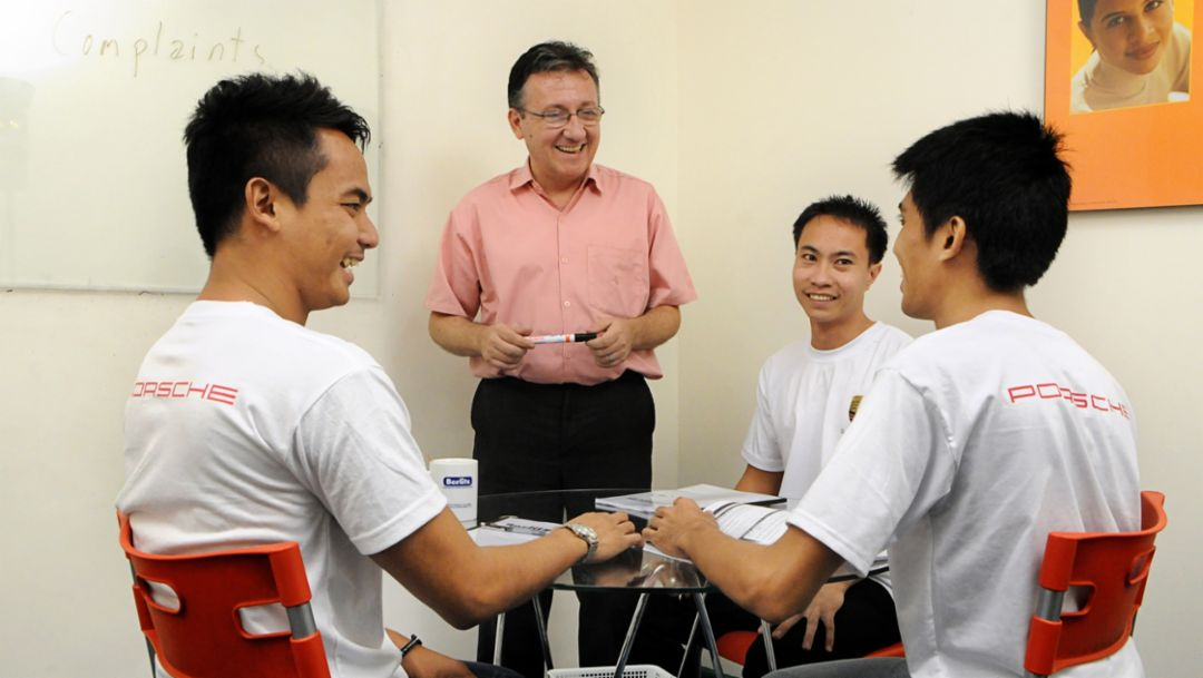 Porsche Training and Recruitment Center Asia, Manila, 2015, Porsce AG