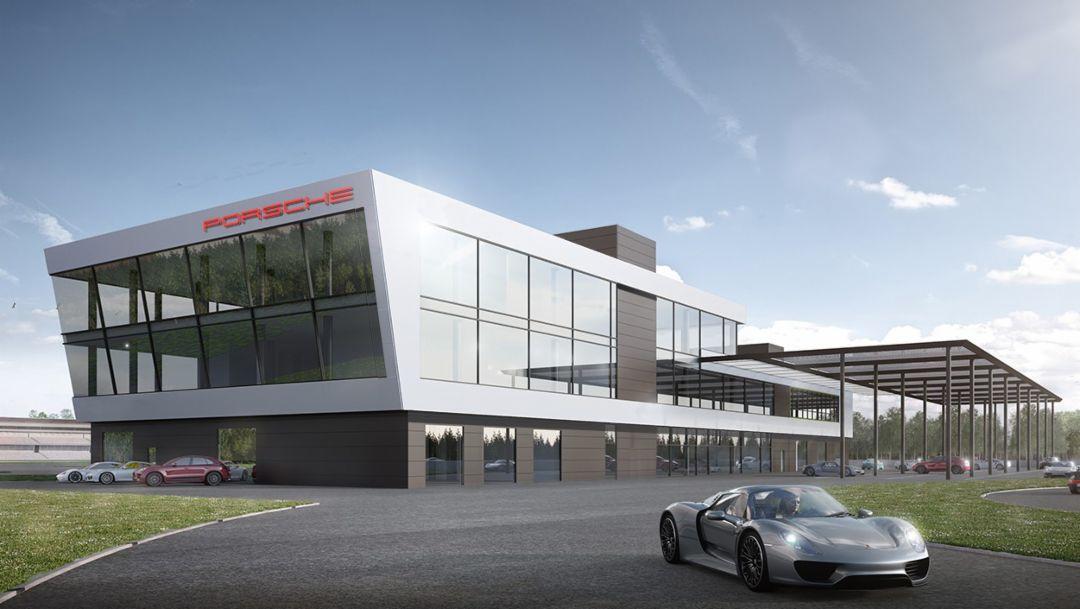 Новый центр Porsche Experience на Хоккенхаймринге