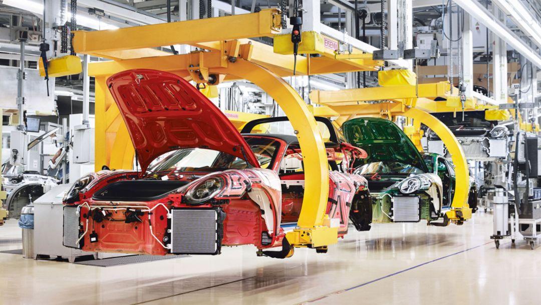 911 Targa 4 GTS, Millionster 911, 2017, Porsche AG