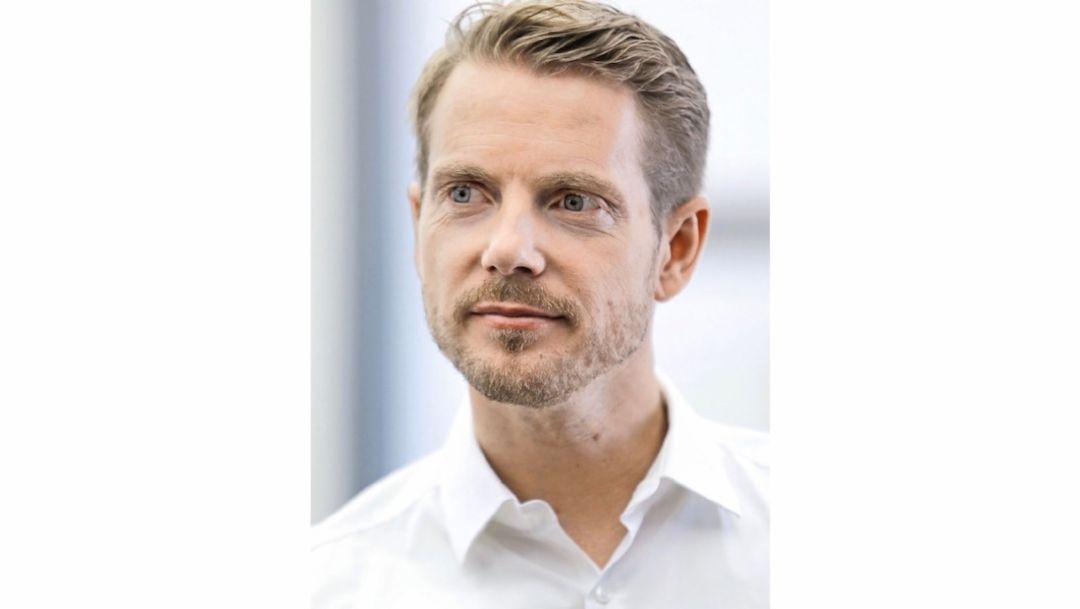 Иво ван Хультен, дизайнер интерьера Porsche, 2018, Porsche AG