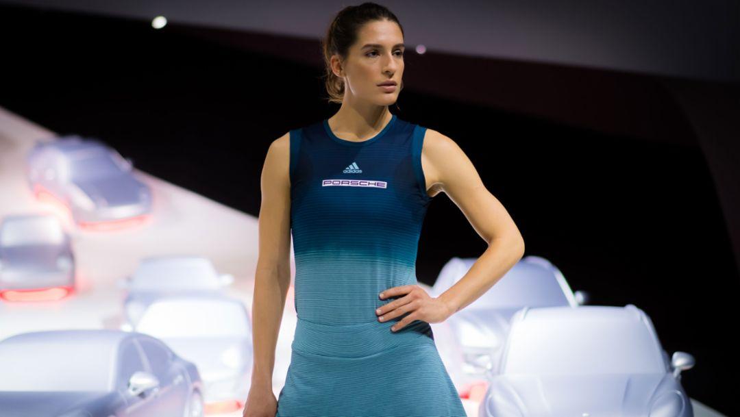 Andrea Petkovic, Porsche Team Deutschland, Autostadt in Wolfsburg, 2019, Porsche AG