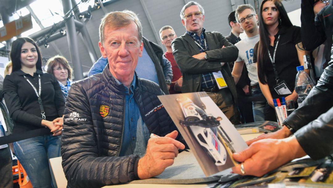 Walter Röhrl, Retro Classics, 2017, Porsche AG