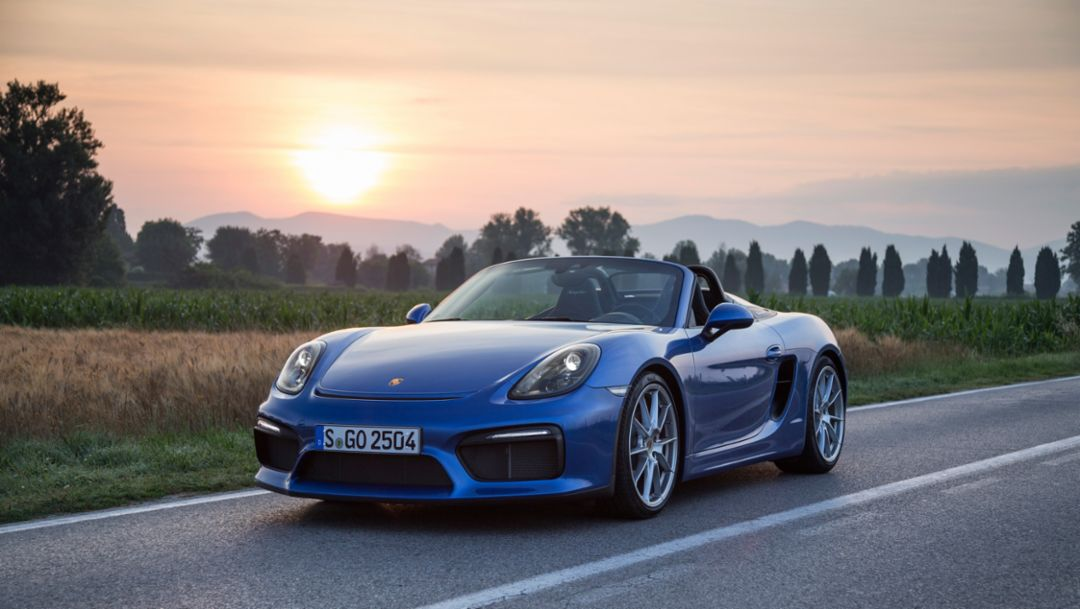 The Boxster Spyder