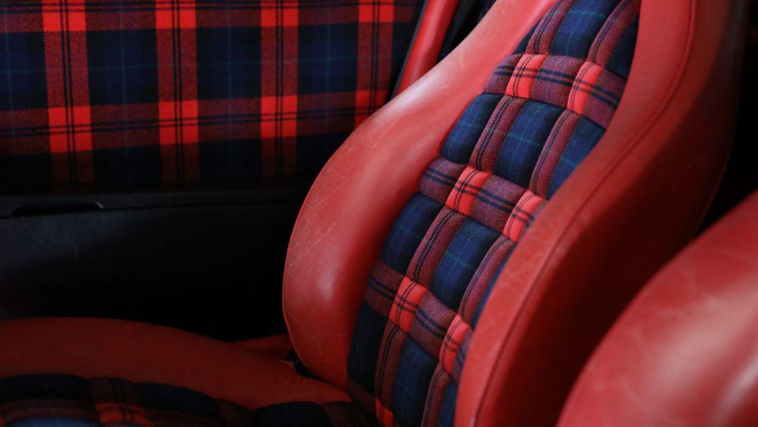Top 5 series: most famous Porsche seat designs, 2018, Porsche AG