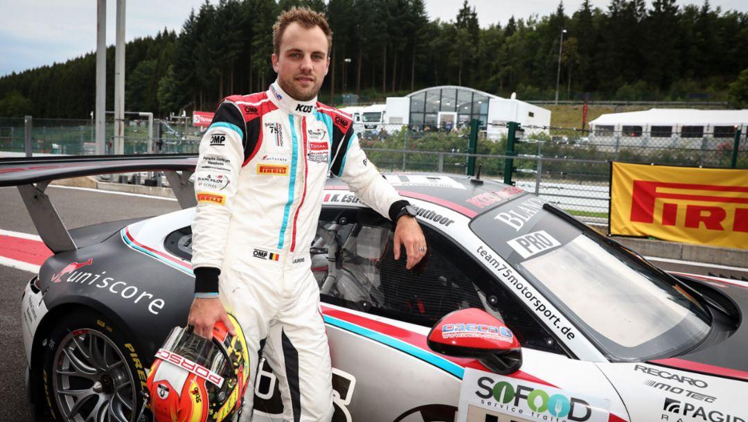 Laurens Vanthoor, 911 GT3 R (117), KÜS Team75 Bernhard, Super Pole, 24 Stunden von Spa, 2017, Porsche AG