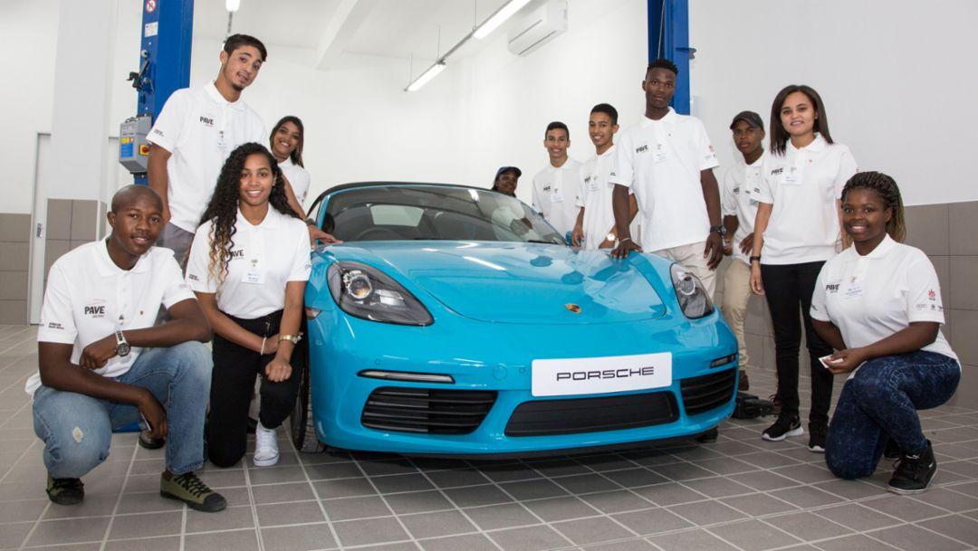 Porsche Training and Recruitment Center Cape Town, South Africa, 2018, Porsche AG