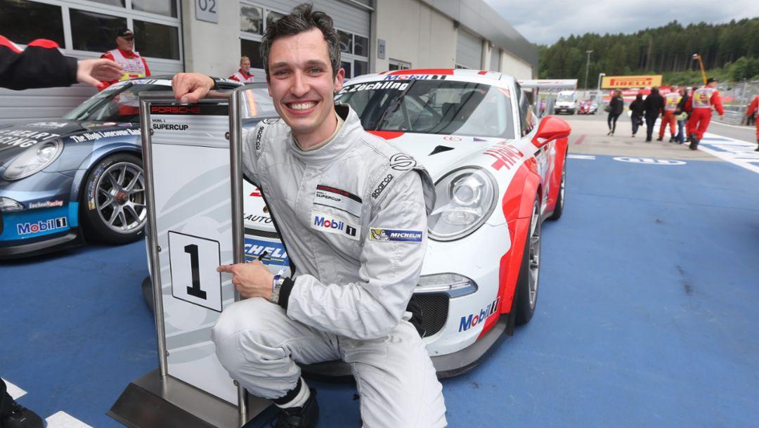 Christopher Zöchling, Porsche Mobil 1 Supercup, Spielberg 2015, Porsche AG