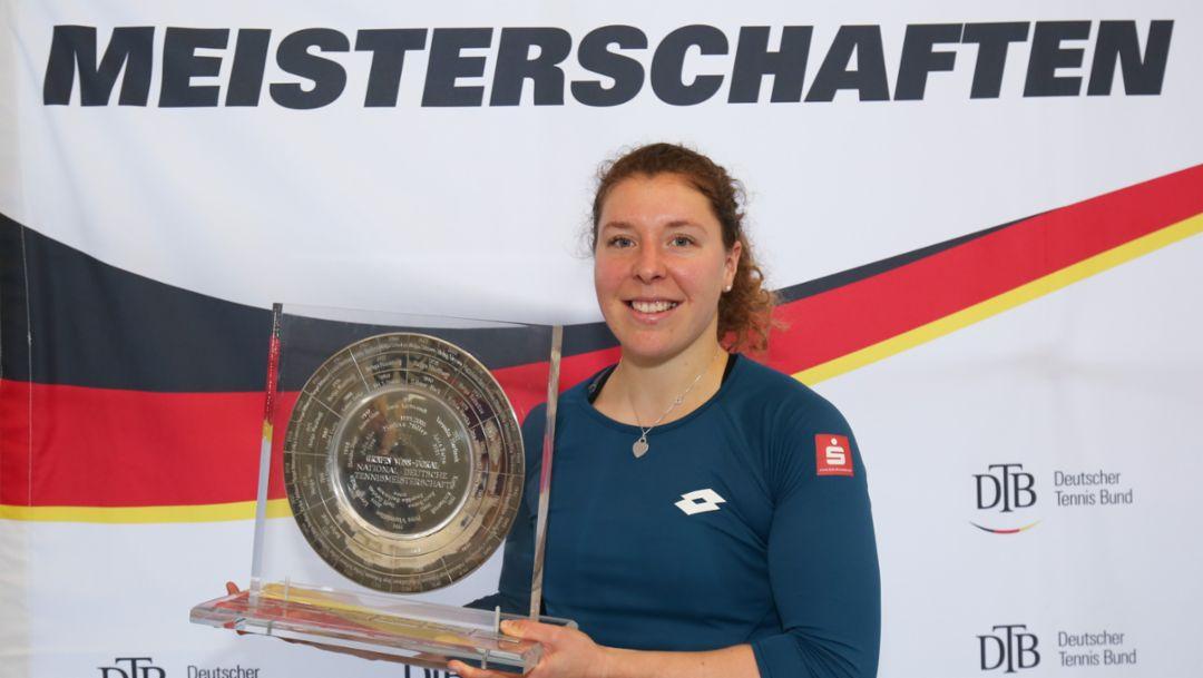 Tennis: Anna-Lena Friedsam is German champion