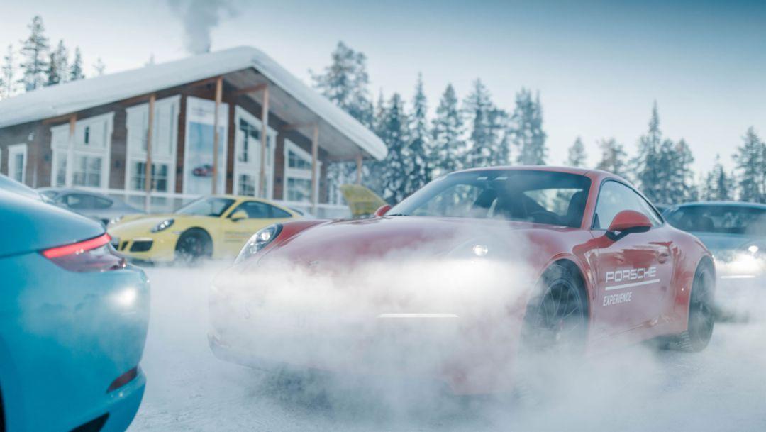 Porsche Ice Experience, Levi, Finnland, 2018, Porsche AG