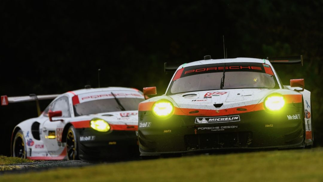 911 RSR, Porsche GT Team, Rennen, Braselton, 2017, Porsche AG