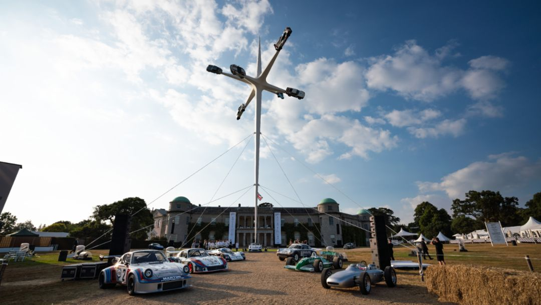 6 x 52 x12 = Porsche + Goodwood Festival of Speed