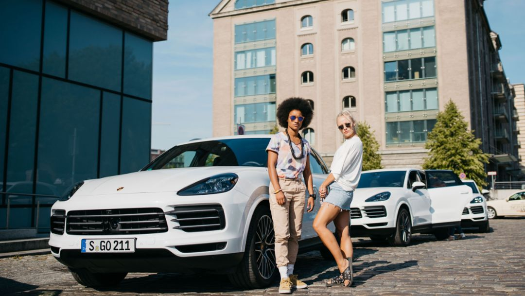 """Porsche und """"Chefboss"""" auf Innovations-Tour"""