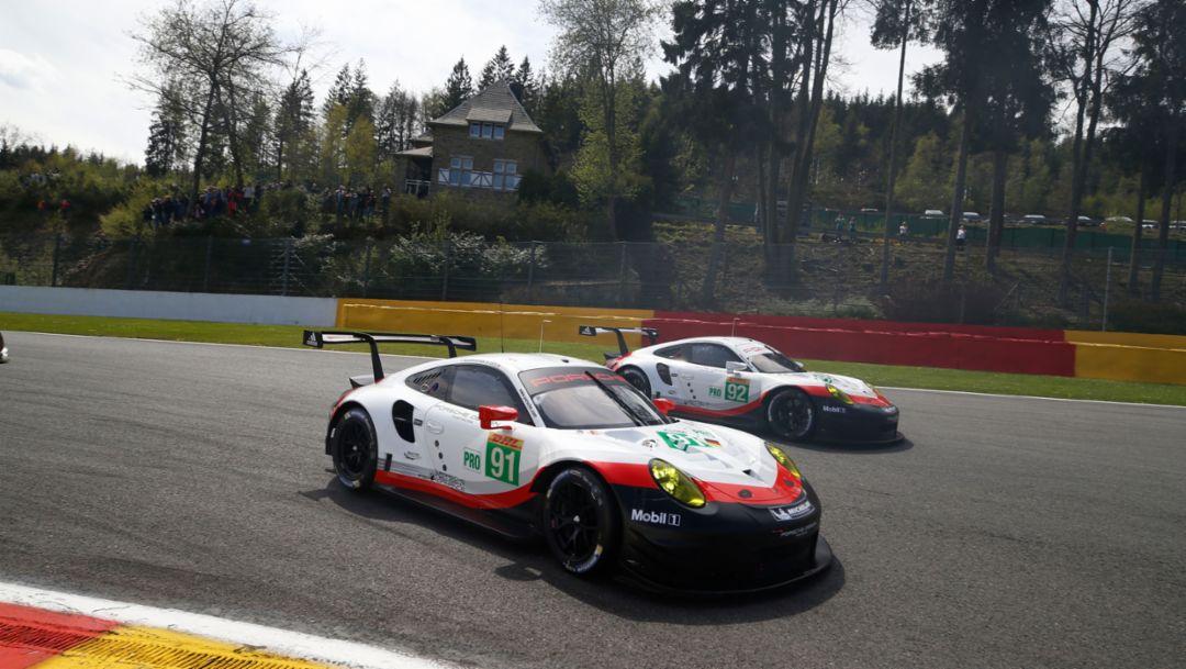 911 RSR, WEC, Spa, 2017, Porsche AG