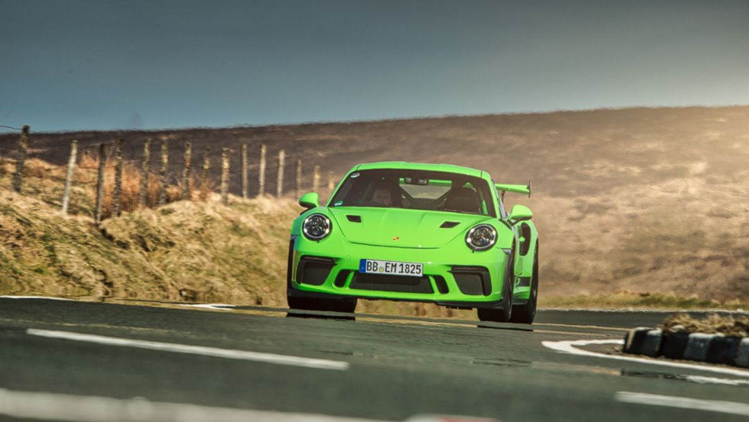 911 GT3 RS, Isle of Man, 2018, Porsche AG