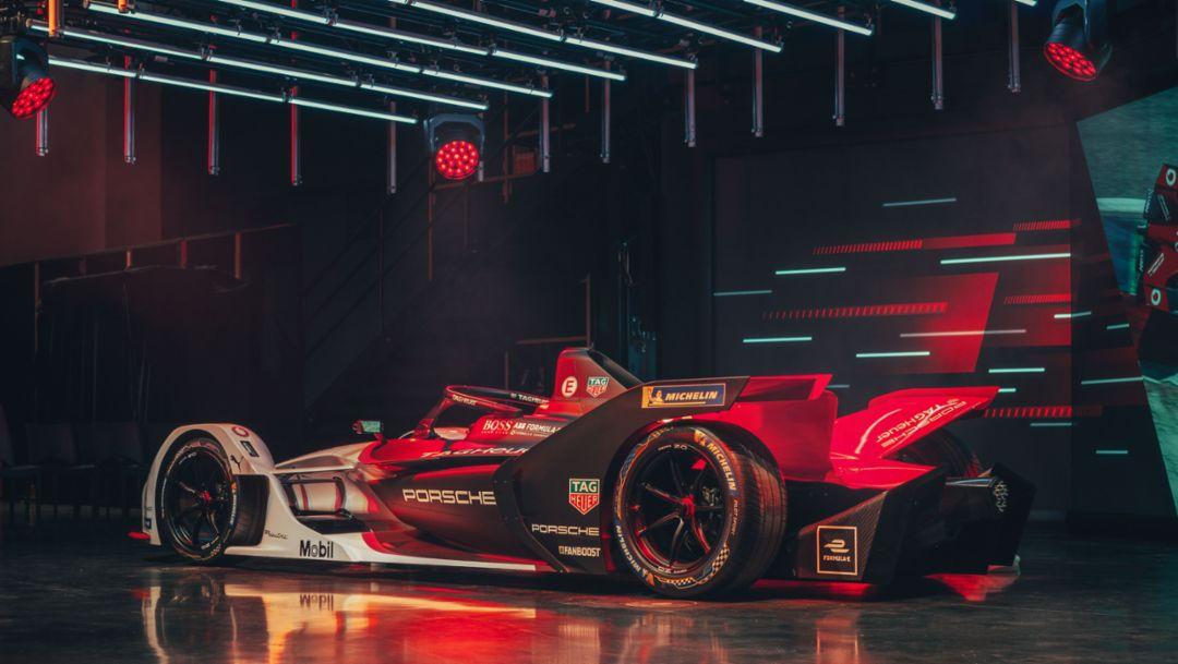 Porsche представляет свою «Дорогу в Формулу E» в виде анимации