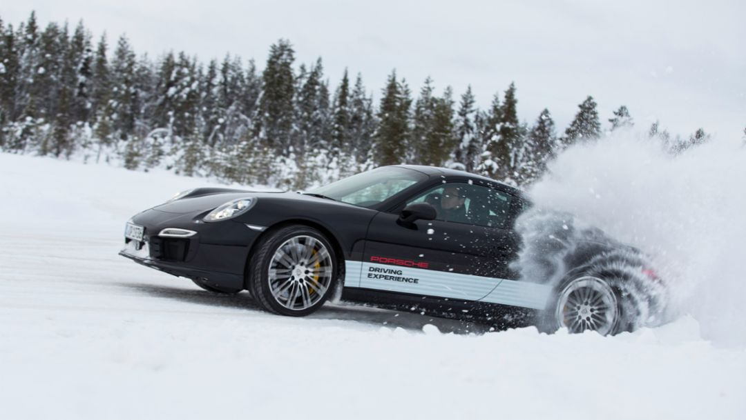 911 Turbo S, Porsche Driving Experience, Ice Force, Levi, Finland, 2015, Porsche AG