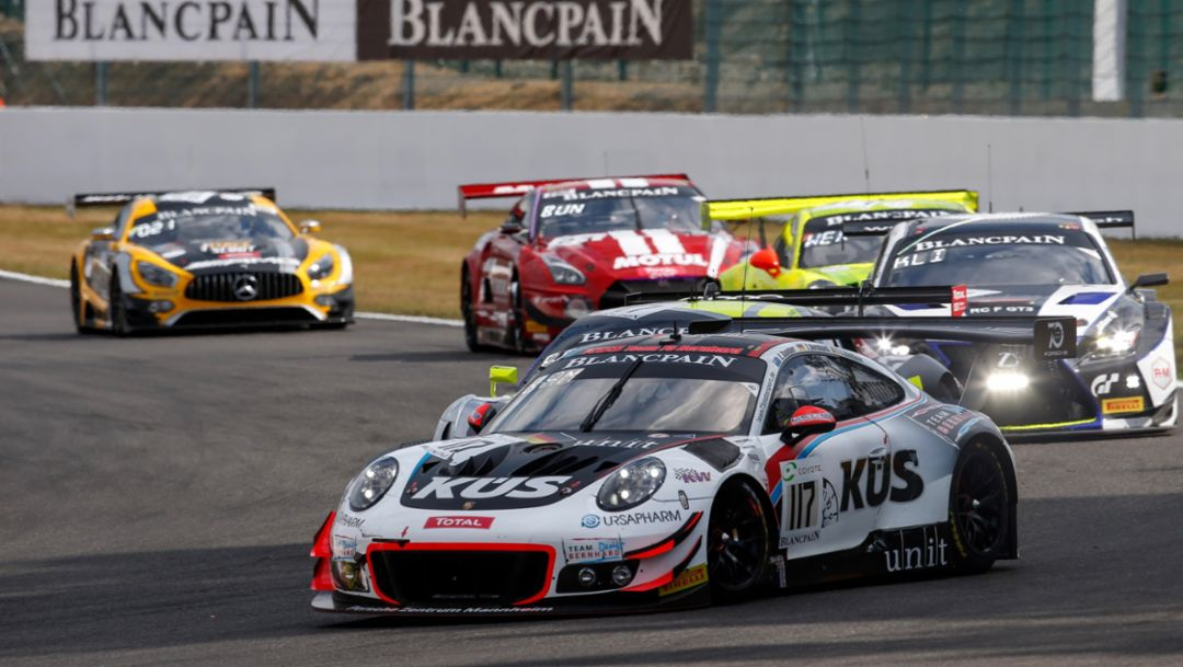 The 24-hour race in Spa-Francorchamps with 911 GT3 R