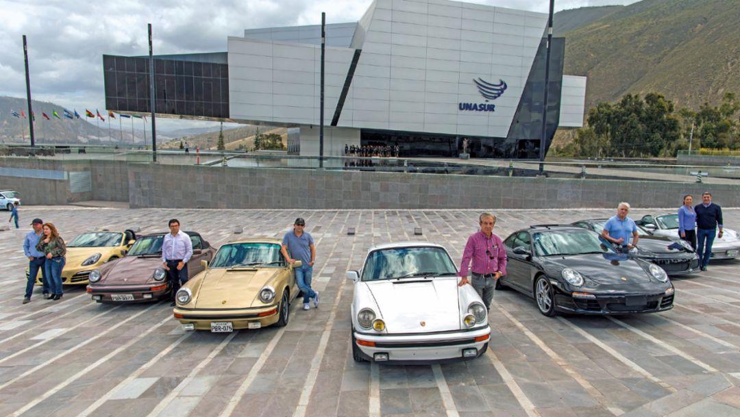 UNASUR-Gebäude, Ecuador, 2018, Porsche AG