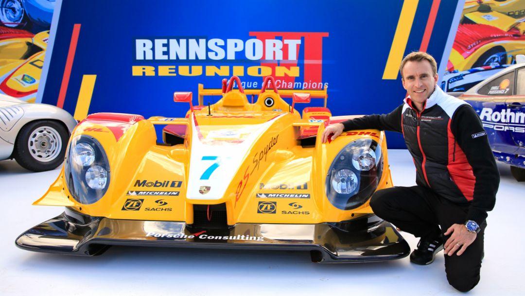 Porsche RS Spyder, Timo Bernhard, Rennsport Reunion VI, WeatherTech Raceway Laguna Seca, California, 2018, Porsche AG