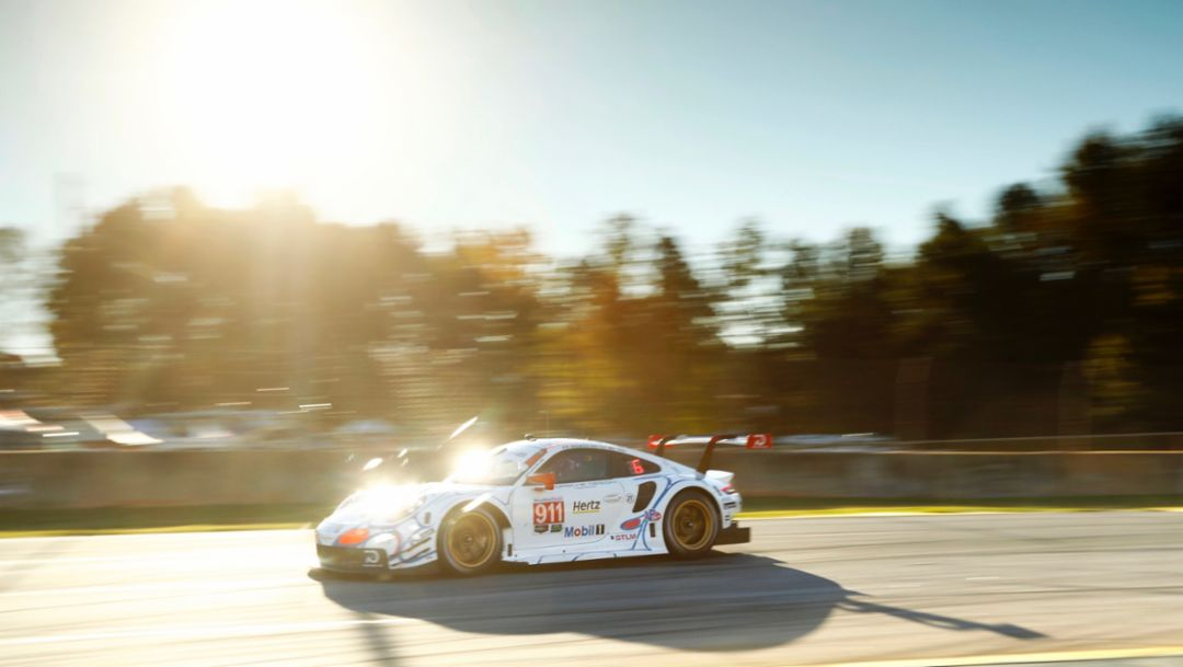 911 RSR, Rennen, IMSA WeatherTech SportsCar Championship, Braselton, 2018, Porsche AG