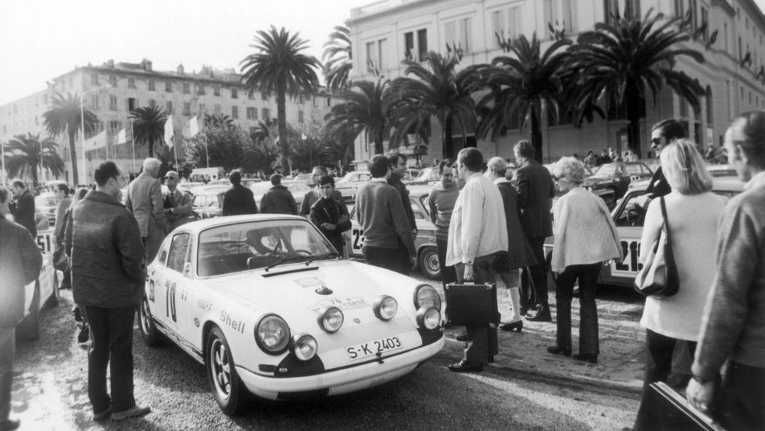 Porsche 911 R, 14. Tour de Corse, 1969, Porsche AG