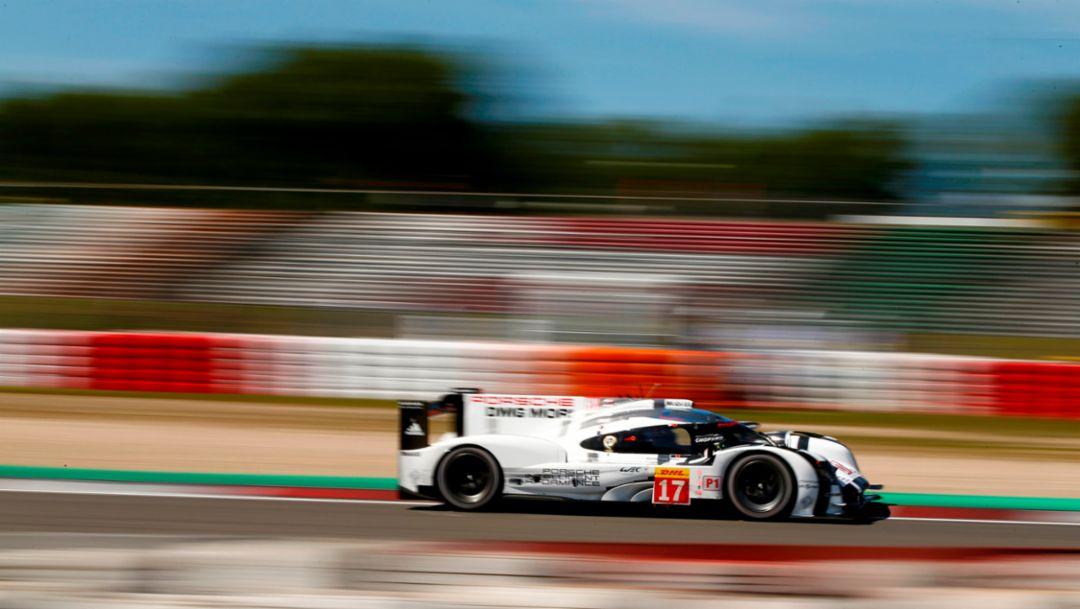 Porsche 919 Hybrid, Porsche Team: Timo Bernhard, Brendon Hartley, Mark Webber, WEC Nürburgring 2015, Porsche AG