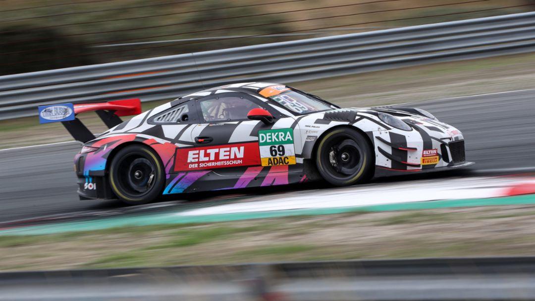ADAC GT Masters, 9. Rennen, Zandvoort, 2018, Porsche AG