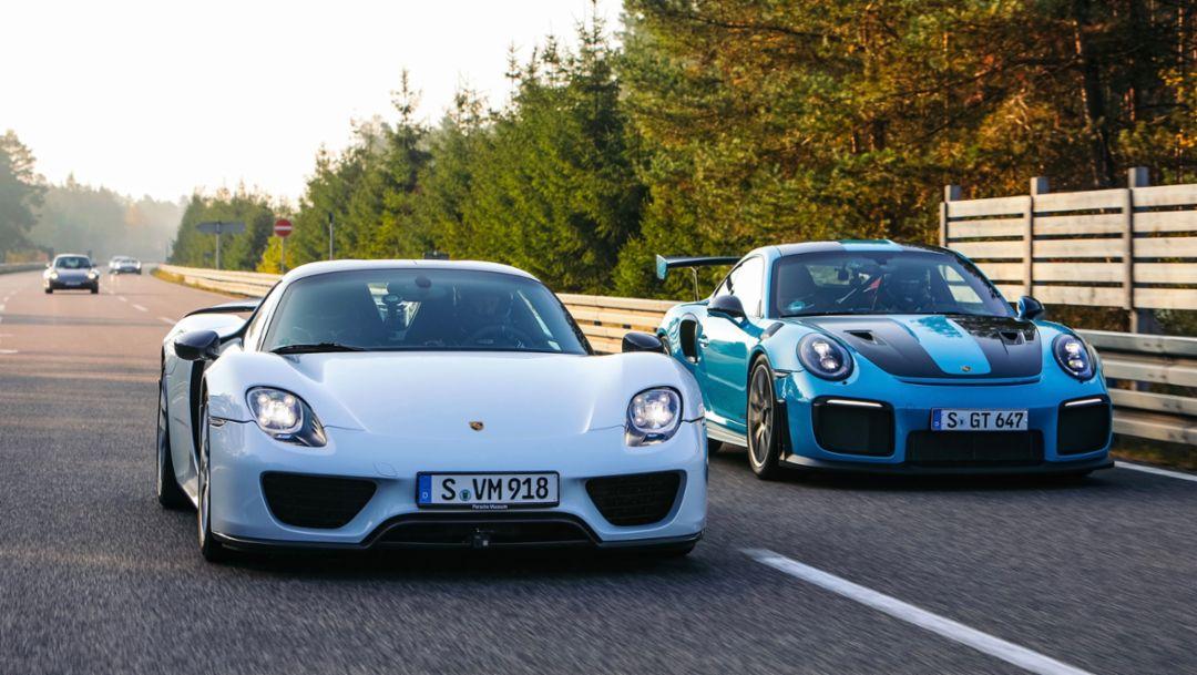 Porsche Top 5: Velocidad superlativa