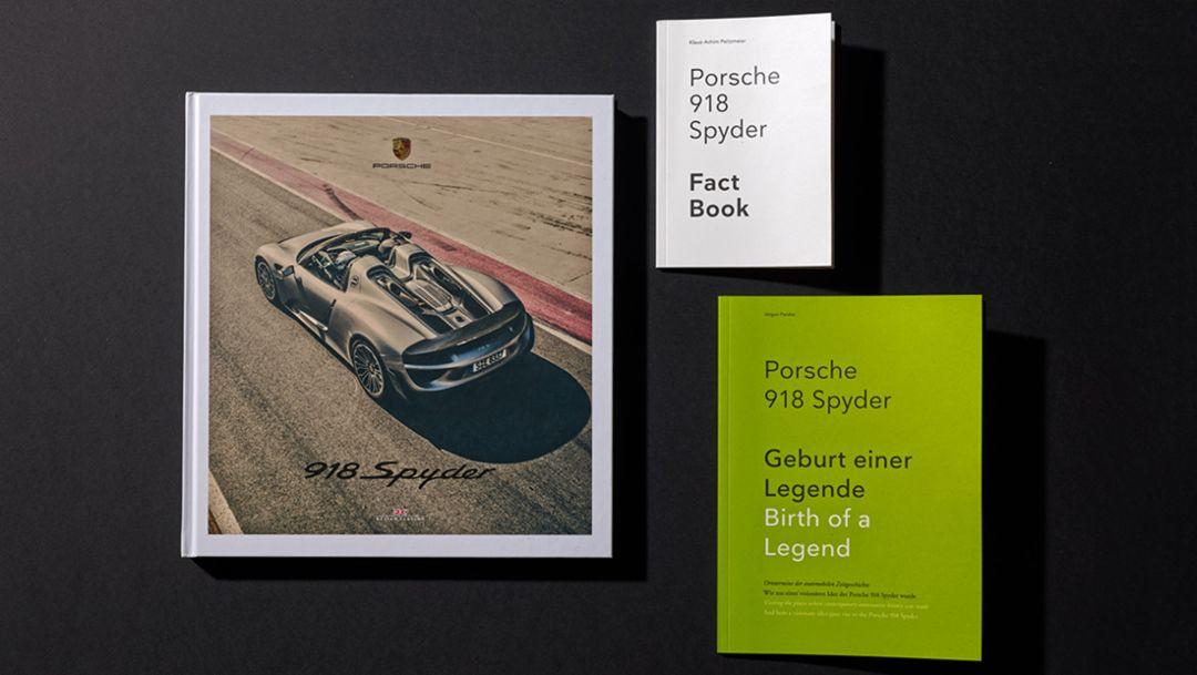 918 Spyder, Picture Book, Fact Book, Story Book, 2015, Porsche AG