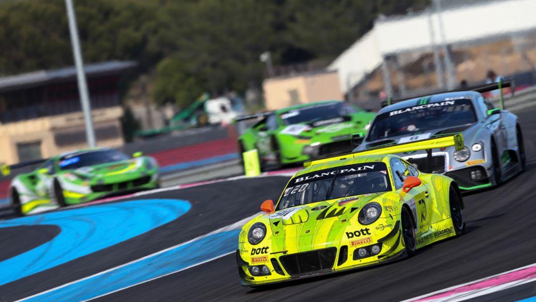 911 GT3 R, Manthey-Racing, Le Castellet, 2018, Porsche AG