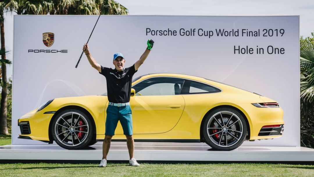 Hole in one! Italian Leoni jubilant over new 911