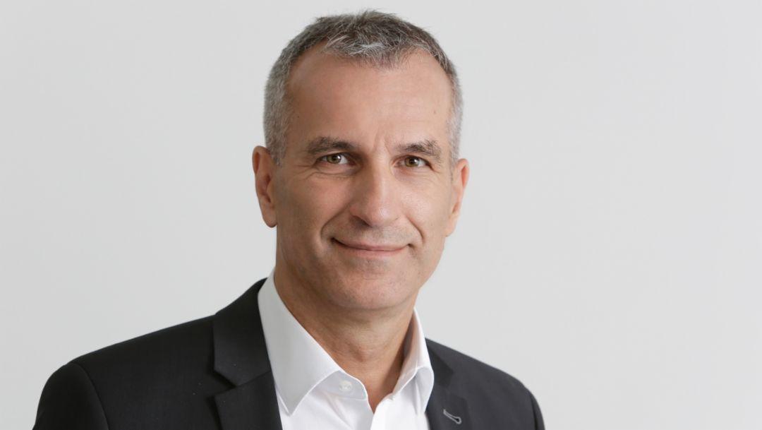 Albrecht Reimold, Vorstand für Produktion und Logistik der Porsche AG, 2019, Porsche AG