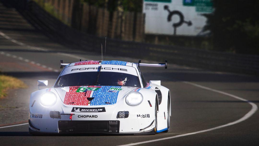 Porsche ist nach erfolgreichem Vortest bereit für Titelverteidigung in Le Mans