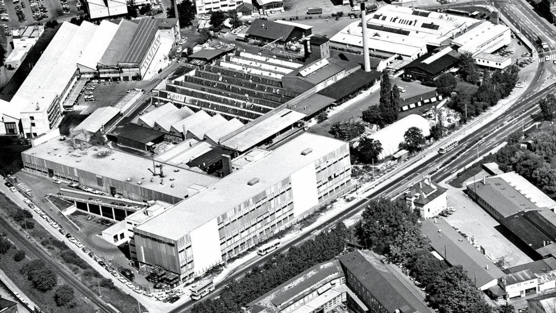 Werk Zuffenhausen, 1973, Porsche AG