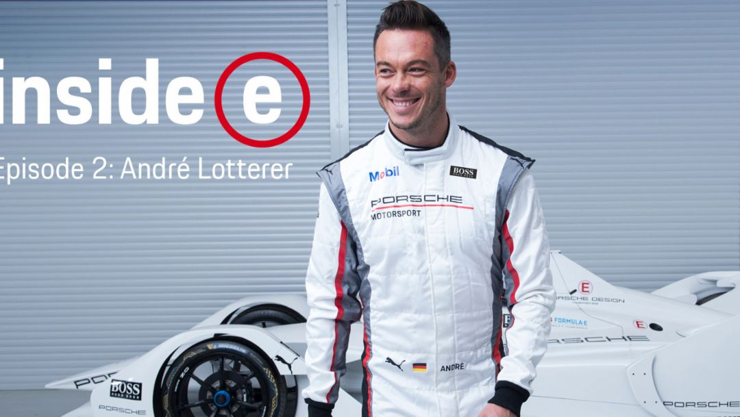 "Entrevista al nuevo piloto Porsche de Fórmula E: André Lotterer en ""Inside E"""