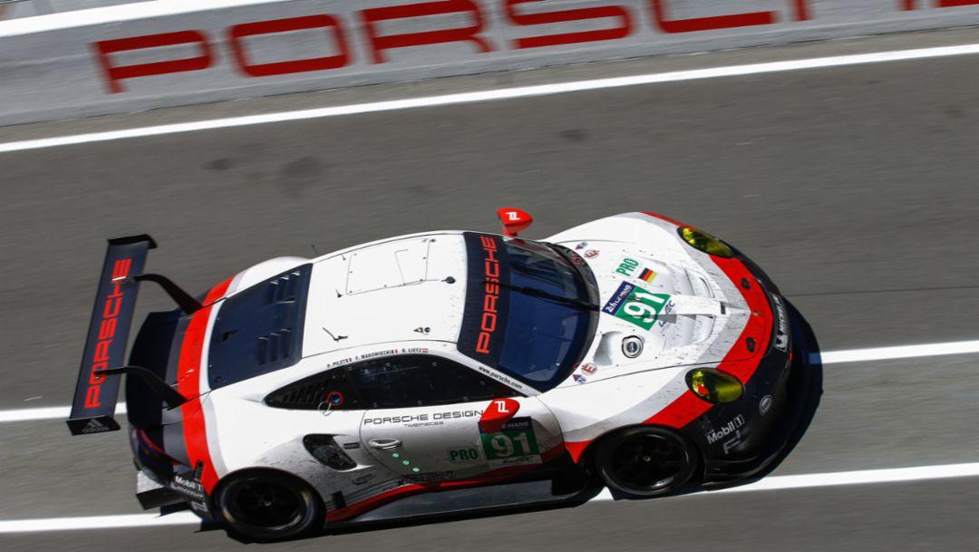 911 RSR, FIA WEC, 24-Stunden-Rennen, Le Mans, 2017, Porsche AG