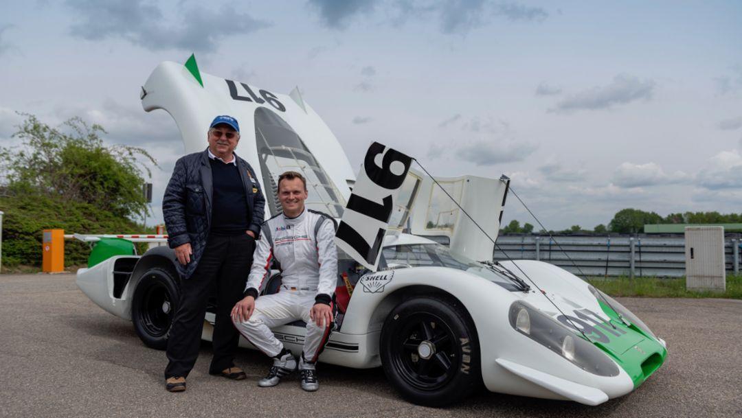 Kurt Ahrens, Marc Lieb, 917-001, Weissach, 2019, Porsche AG