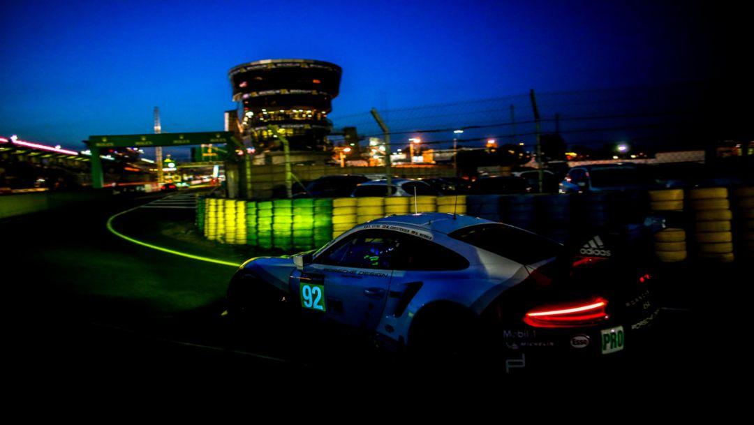 911 RSR, FIA WEC, Qualifying, Le Mans, 2017 Porsche AG