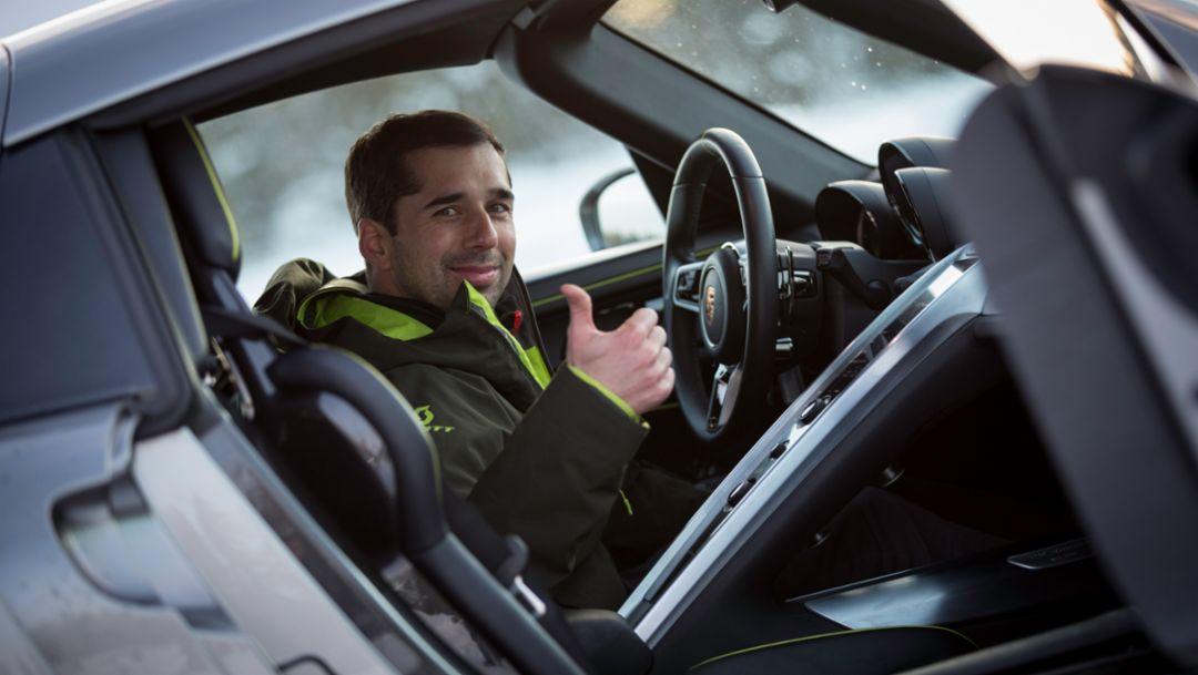 Neel Jani, works driver LMP1, 918 Spyder, Porsche Driving Experience, Levi, Finland, 2015, Porsche AG