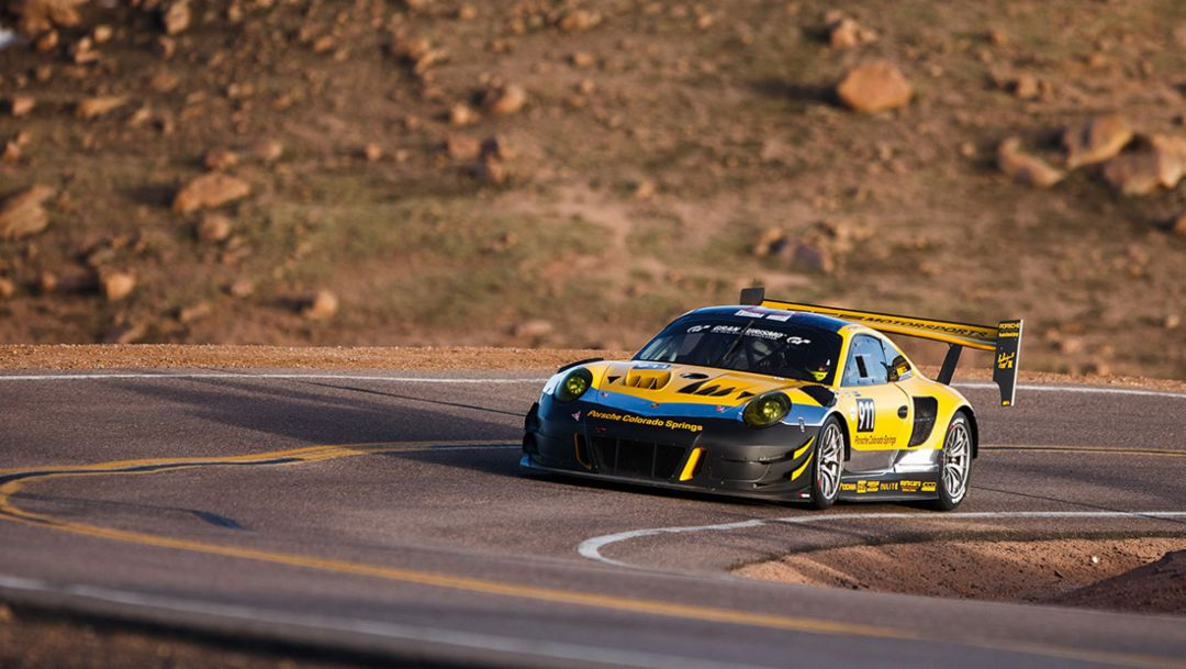 Race to the clouds: Stuttgart's finest at Pikes Peak