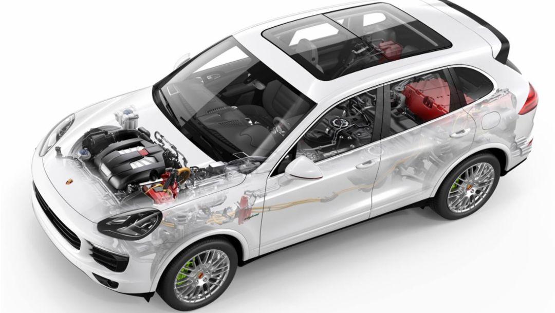 Cayenne S E-Hybrid, 2014, Porsche AG