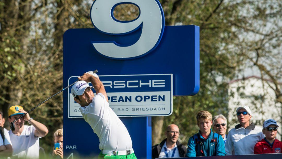 Alexander Levy (FRA), Golfer, Porsche European Open, Bad Griesbach, 2016, Porsche AG
