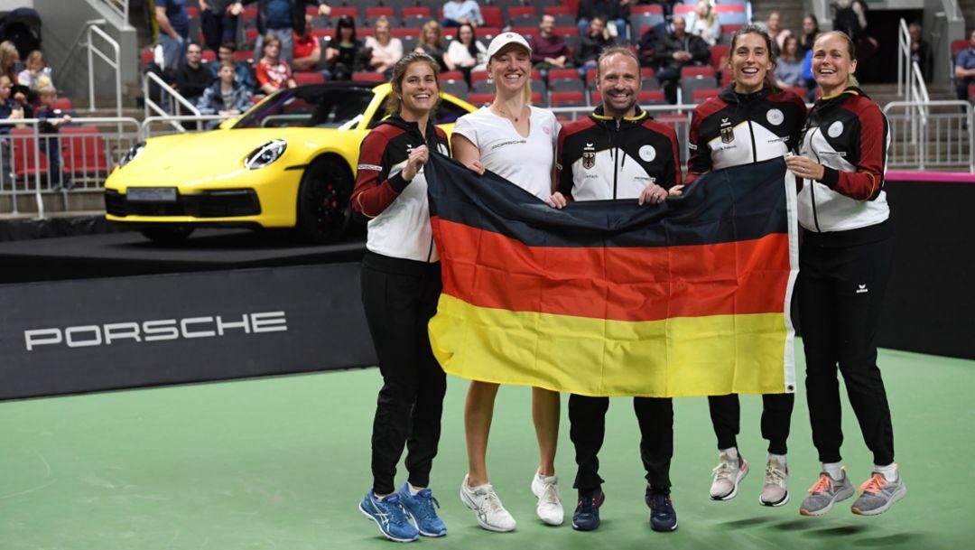 Tennis: Porsche Team Germany still first class