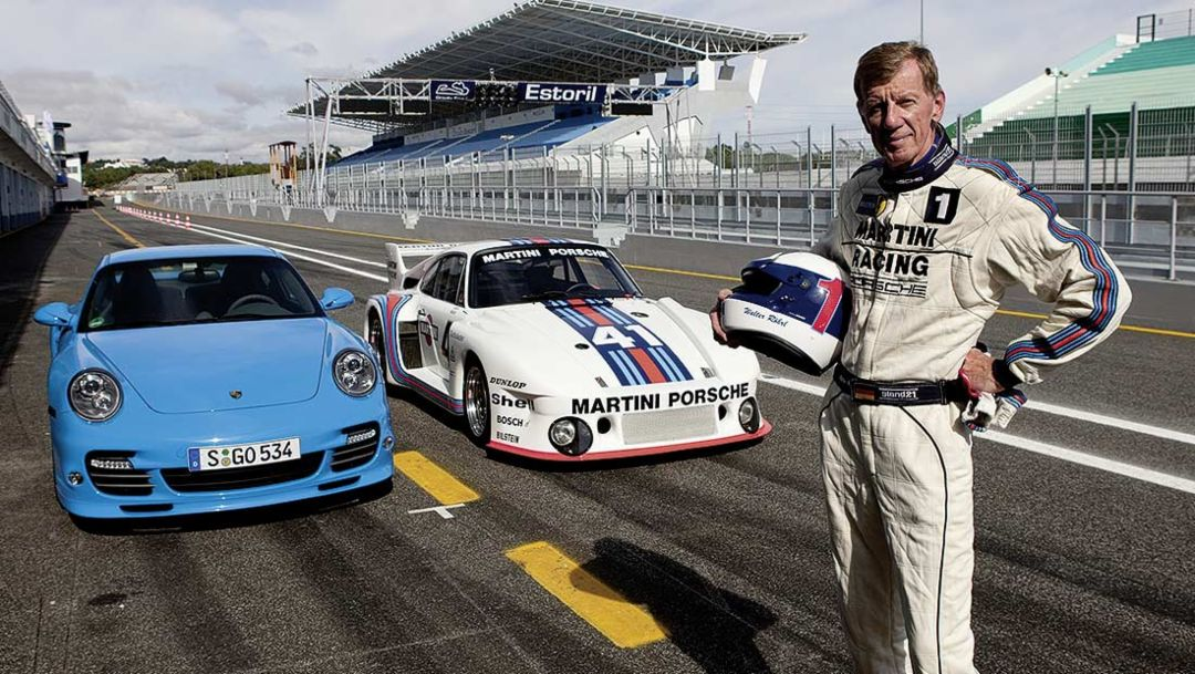 Walter Roehrl, former race car driver, 2013, Porsche AG