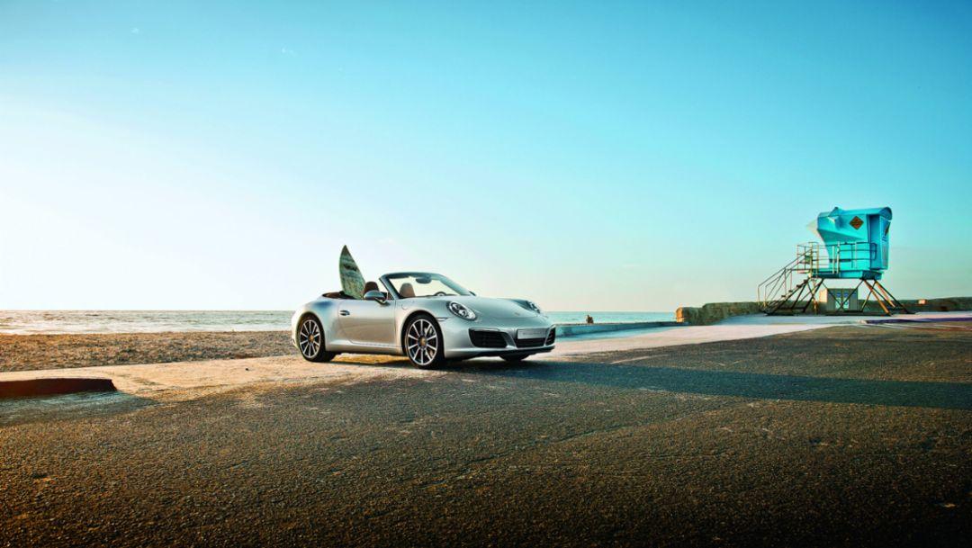 Porsche 911 Carrera S Cabriolet, 2016, Porsche AG