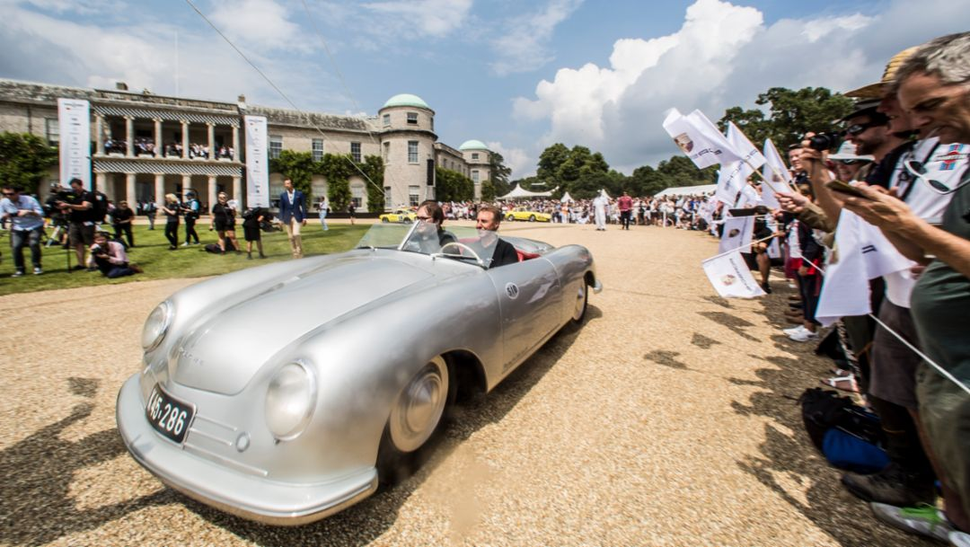 "356 ""Nr. 1"", Goodwood Festival of Speed, England, 2018, Porsche AG"