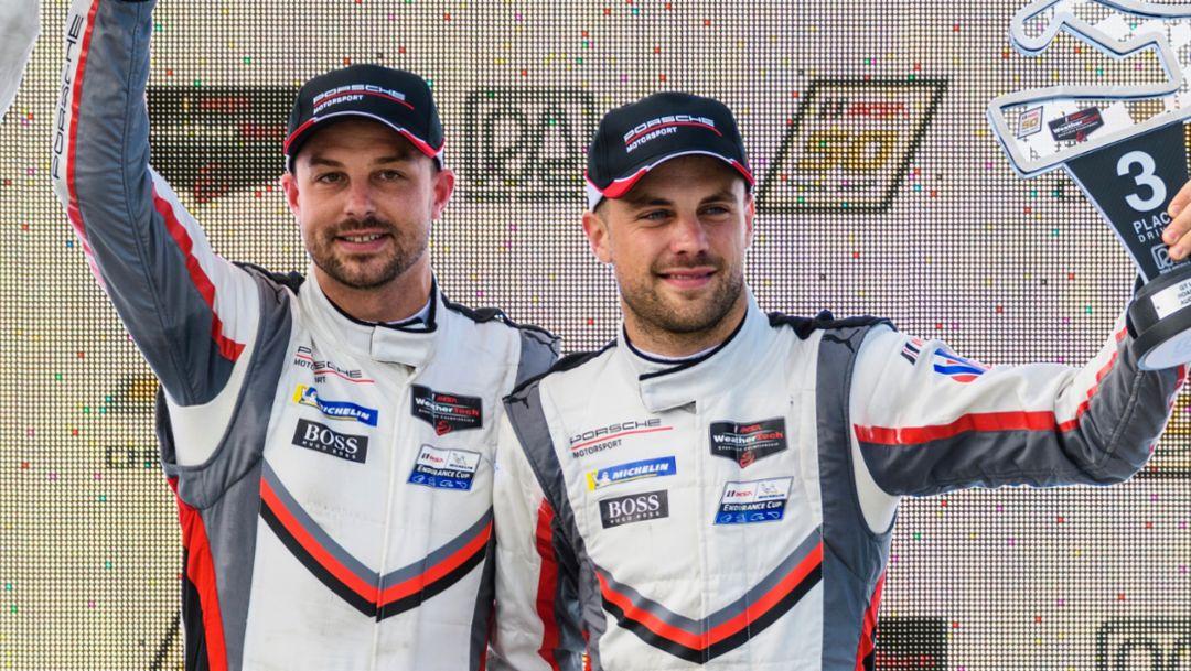 IMSA: Porsche GT Team verteidigt mit Podium die Tabellenführung