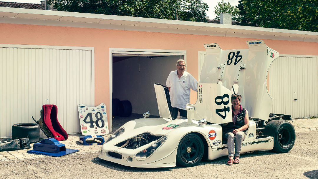 "Garage treasure: The ""Le Mans"" Porsche 908.022"