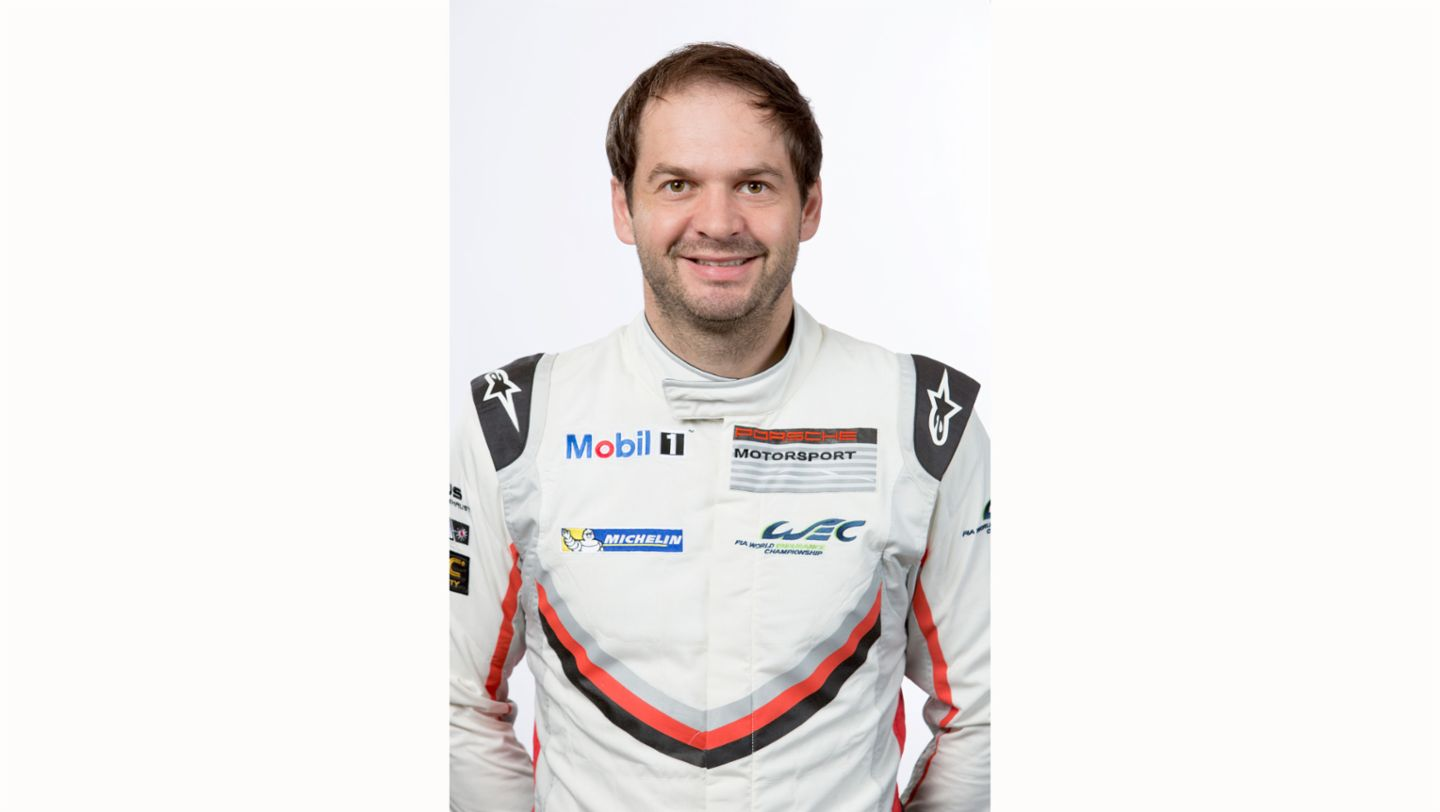 Richard Lietz, works driver, 2017, Porsche AG