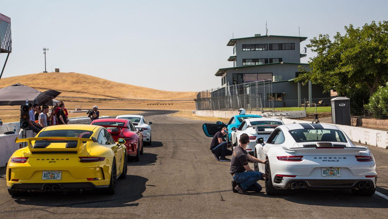 911 GT3, 911 Turbo S Exclusive Series, Thunderhill Raceway Park, 2017, Porsche AG